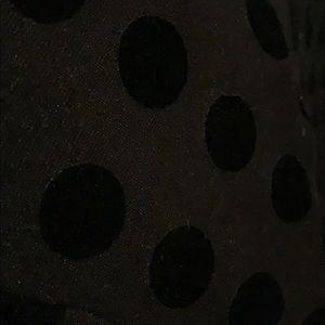 Ann Taylor Dresses - Ann Taylor Polka Dot T-shirt Dress